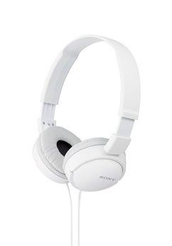 Sluchátka SONY MDR-ZX110 bílá - poškozený obal