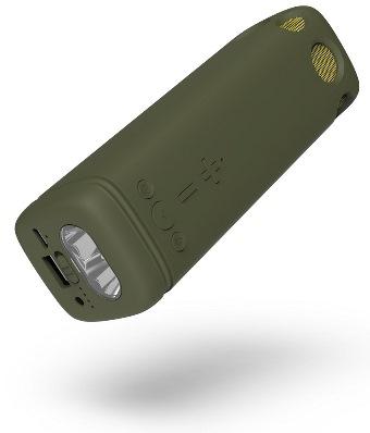 Power bank Puridea I2 - 8.000mAh army green