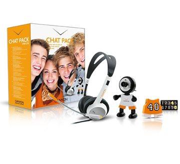 Chat pack CANYON webkamera + sluchátka s mikrofonem