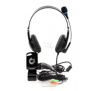 Chat pack CANYON CNR-CP3G webkamera + sluchátka s mikrofonem