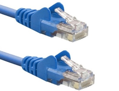 Síťový kabel BELKIN Cat5e RJ45 (2m) modrý