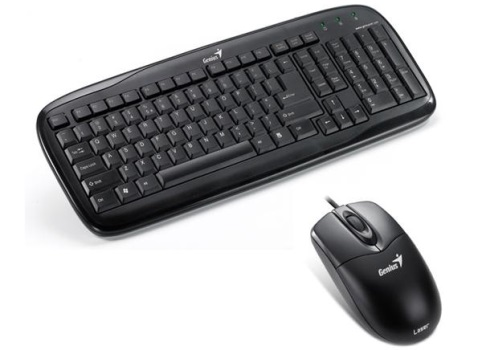 Set (klávesnice + myš) GENIUS SlimStar C110 CZ+SK