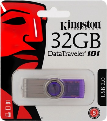 Kingston DataTraveler 101 G2 32GB (DT101G2/32GB)