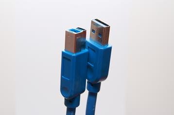 propojovací kabel USB 3.0 A-B 3m modrý