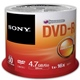 Sony DVD-R 4,7GB 16x, spindle, 50ks (50DMR47SP)